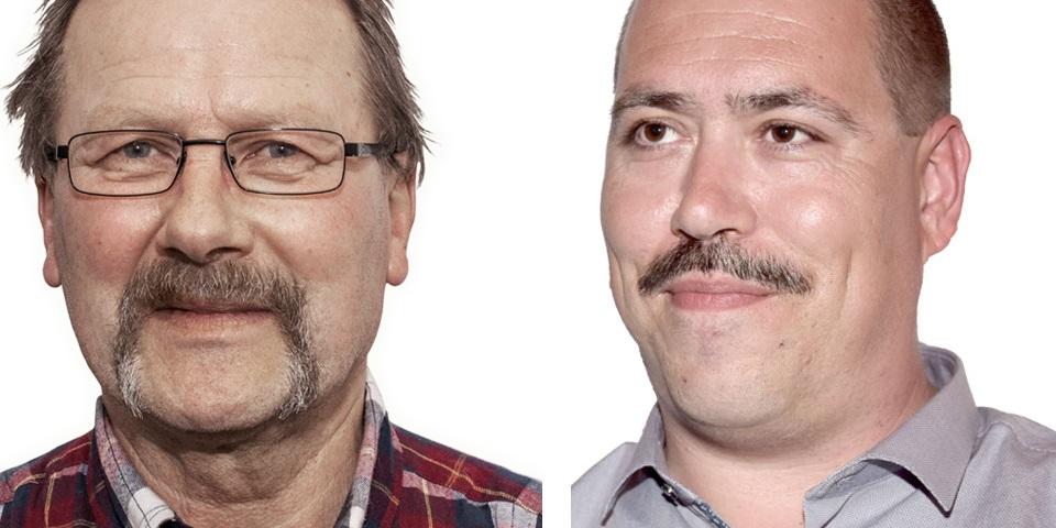 Links: Ernst-Günther Zimniok, Rechts: Michael Wittwer