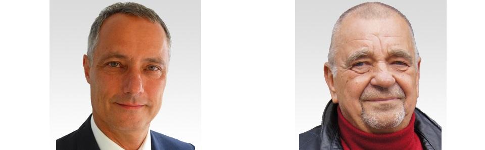 Links: Uwe Kroll, rechts: Paul Günter Steuer