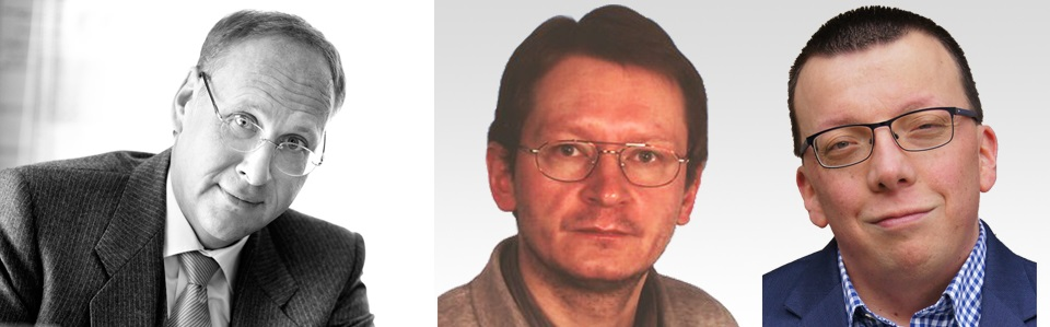 Links: Dr. Volker Dringenberg, Mitte: Ronald Preuß, Rechts: Sören Schwarzer