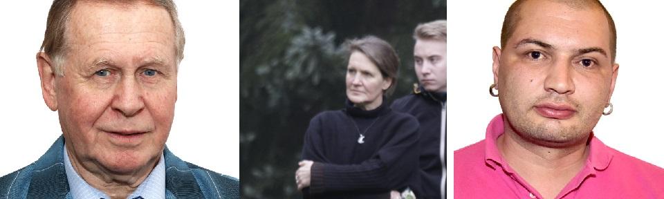Links: Winfried Wenzel, Mitte: Cornelia Horn, Rechts: Rijad Lessig